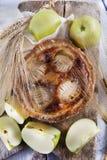 Italian pastries, apple pie Stock Images