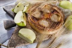 Italian pastries, apple pie Royalty Free Stock Images