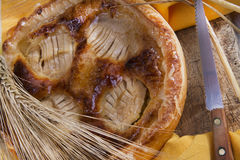Italian pastries, apple pie Royalty Free Stock Photography
