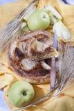 Italian pastries, apple pie Royalty Free Stock Photo