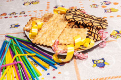 Italian pastries royalty free stock image
