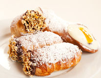 Italian pastries Stock Images