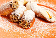 Italian pastries Royalty Free Stock Photo