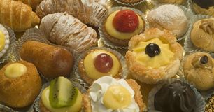 Italian pastry Royalty Free Stock Photography