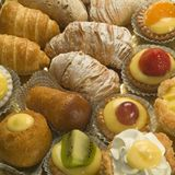 Italian Pastry Royalty Free Stock Photos