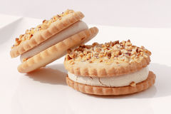 Italian pastry biscuits Stock Photos
