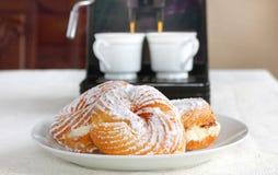Italian pastry Stock Photos