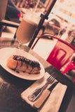 Italian pastry retro style Stock Photography