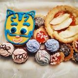 Italian pastry Stock Image