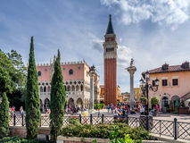 Italian pavilion, World Showcase, Epcot Royalty Free Stock Photo