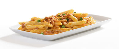 Italian penne Royalty Free Stock Images