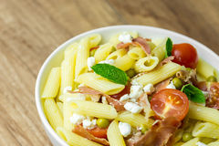 Italian Penne Pasta Salad Stock Images
