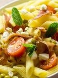 Italian Penne Pasta Salad Stock Image