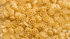 Italian Penne Rigate Macaroni Pasta raw food Royalty Free Stock Photography