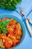 Italian peperonata: roasted bell pepper Royalty Free Stock Images