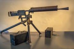 Italian Perino Machine Gun Royalty Free Stock Images