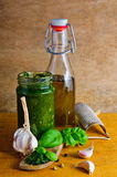 Italian pesto Royalty Free Stock Images