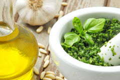 Italian pesto Royalty Free Stock Photos