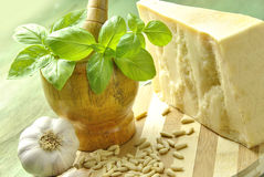 Italian pesto Royalty Free Stock Photography