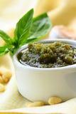 Italian pesto sauce Stock Photo