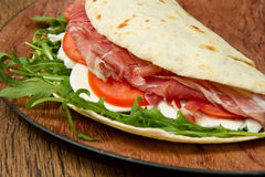 Italian piadina Stock Photo