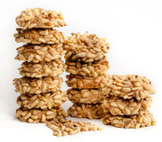 Free Italian Pignoli Cookie With Pine Nuts Royalty Free Stock Photo - 35672285