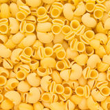 Italian Pipe Rigate Macaroni Pasta raw food background or textur Stock Photo