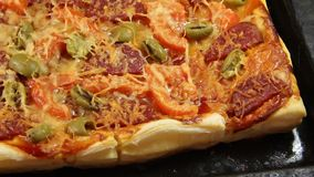 Italian pizza Stock Photos