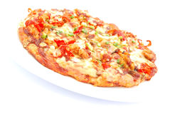 Italian pizza Stock Images