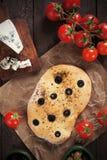 Italian pizza focaccia Stock Photo