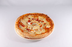 Italian Pizza Food Stock Photo