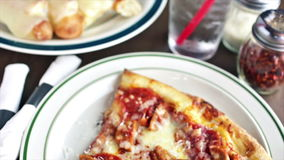Italian pizza stock footage