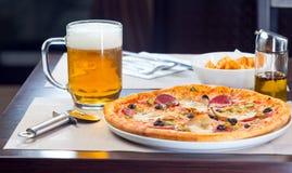 Italian pizza Royalty Free Stock Photography