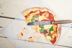 Italian pizza Margherita Stock Photography