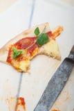 Italian pizza Margherita Royalty Free Stock Photography