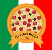 Italian Pizza Royalty Free Stock Photo