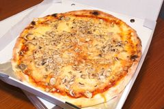 Italian pizza Royalty Free Stock Photos