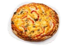 Italian pizza Stock Images