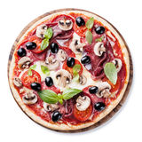 Italian pizza Stock Image