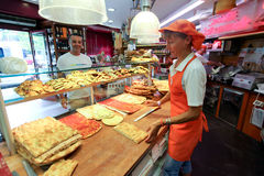 Italian pizza shop Royalty Free Stock Image