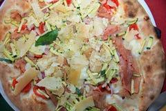 Italian Pizza closeup royalty free stock image