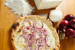 Italian Pizza special Royalty Free Stock Photography