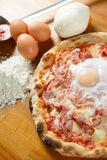 Italian Pizza special Royalty Free Stock Photo