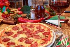 Italian pizza Royalty Free Stock Photo