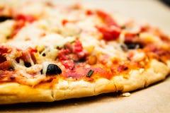 Italian pizza tomato Stock Photo