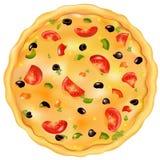 Italian Pizza. Vector Royalty Free Stock Photo
