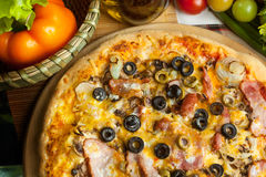 Italian pizza Stock Photography
