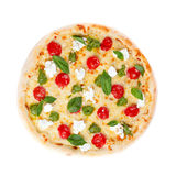 Italian pizza. On white background Stock Image