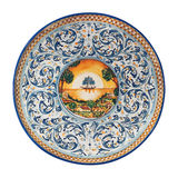 Italian plate Stock Images