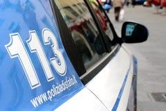 Italian police Stock Photography